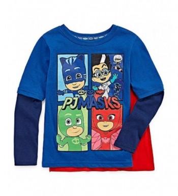 Masks Toddler Sleeve Shirt Detachable
