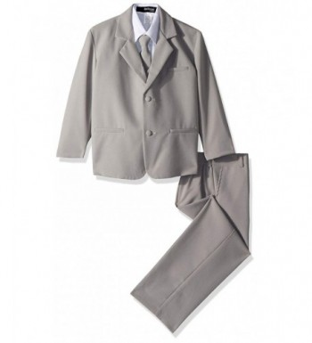Gino Giovanni Formal Suit Silver