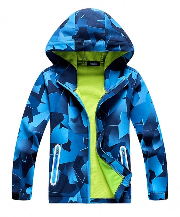 M2C Pattern Windproof Jackets Composite