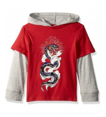 Crazy Sleeve Hooded 2 fer Graphic