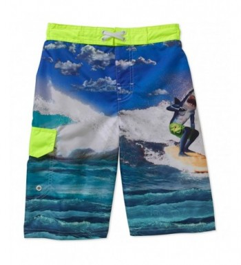 Ocean Pacific Surfing Shark Short