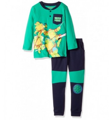 Nickelodeon Little Turtle Henley French