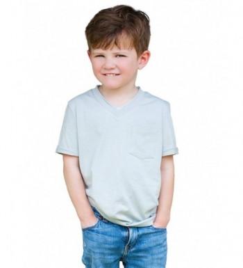 Dakomoda Toddler Basic Cotton V Neck