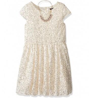 My Michelle Girls Sleeve Dress