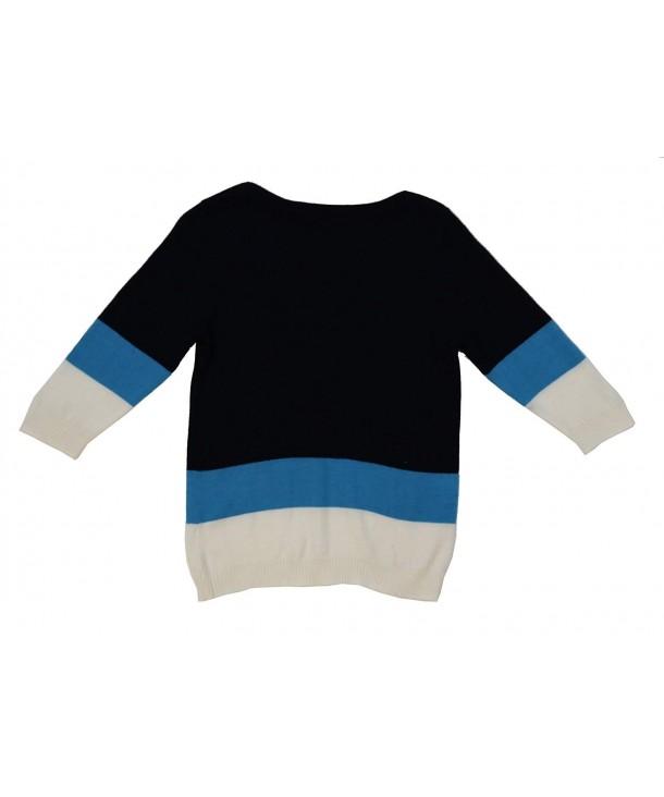 Ms Purple Sleeve Pullover Sweater