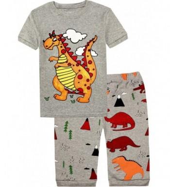 Litlle Dinosaur Pajamas Christmas Sleepwear
