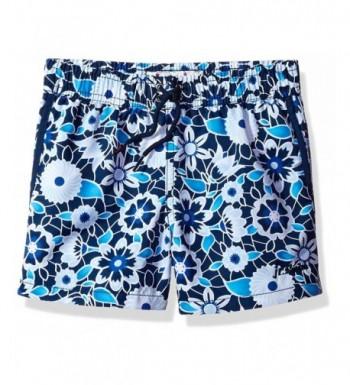 Jr Swim Boys Floral Trunk
