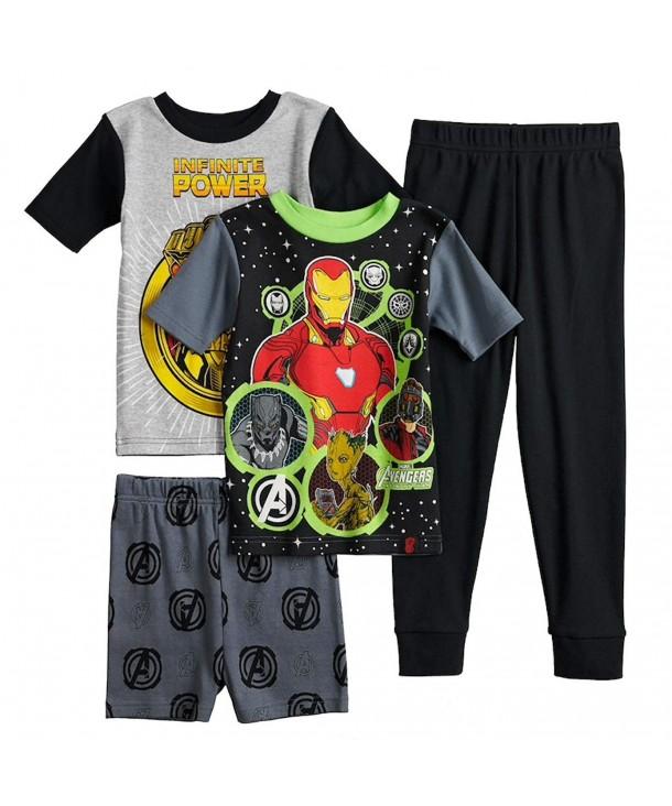 Marvel Avengers Glow 4 Piece Pajama