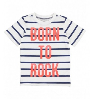 Carters Boys Striped Short Sleeve