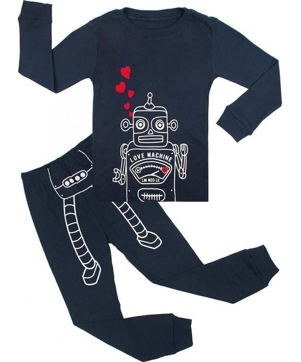 BOOPH Pajamas Clothes Toddler Sleepwear