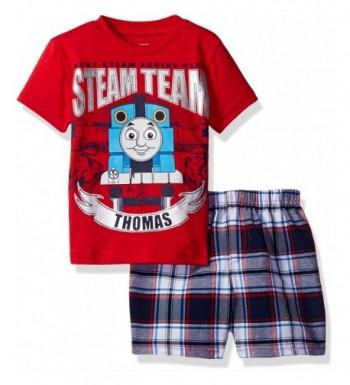 Thomas Boys Toddler Plaid Short