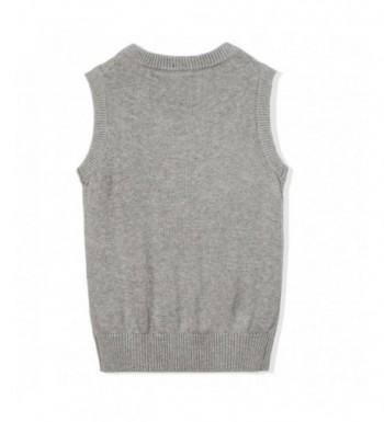 Designer Boys' Sweater Vests Outlet