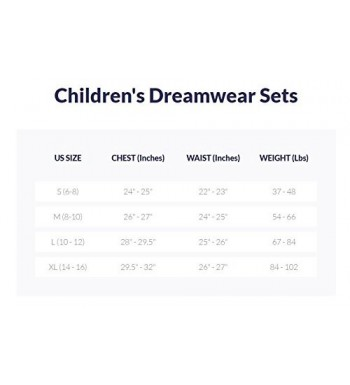 Cheapest Boys' Pajama Sets