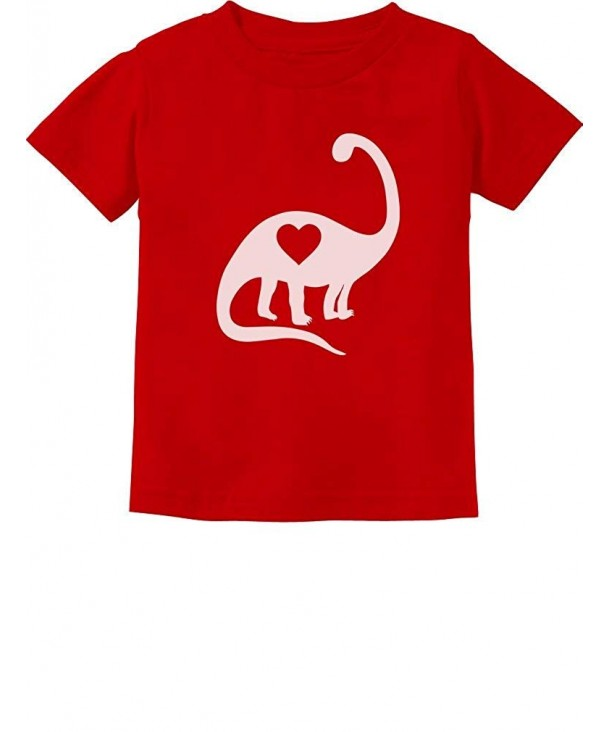 TeeStars Dinosaur Heart Toddler T Shirt