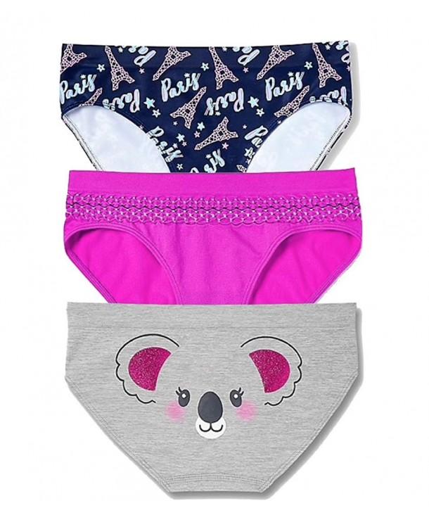 Size 8//10 Set of 3 NWT Justice Girls Stripe Cotton Bikini Underwear 12//14!