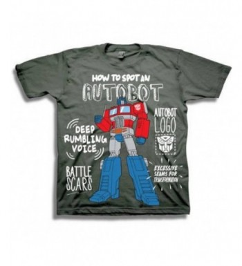 Transformers Toddler Little Autobot T Shirt