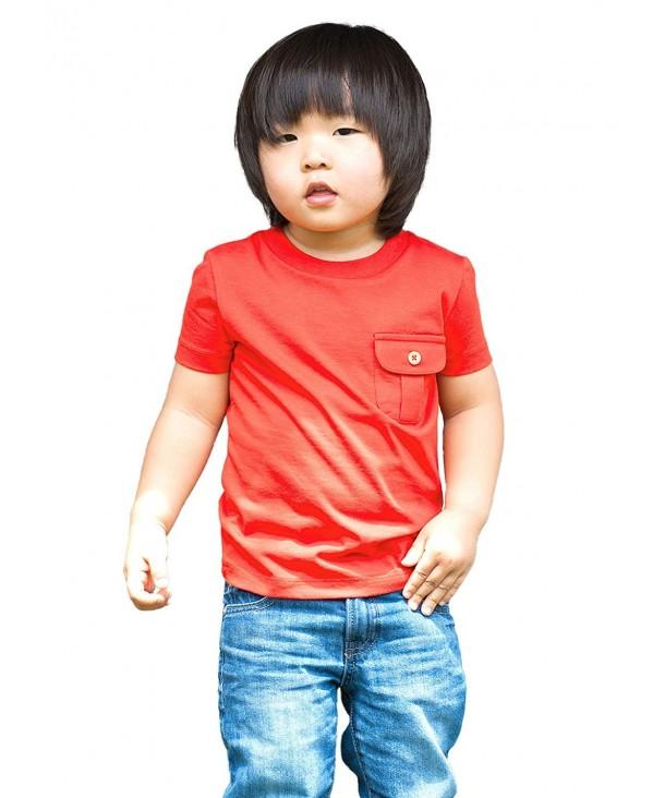 Dakomoda Toddler Boys Cotton Basic
