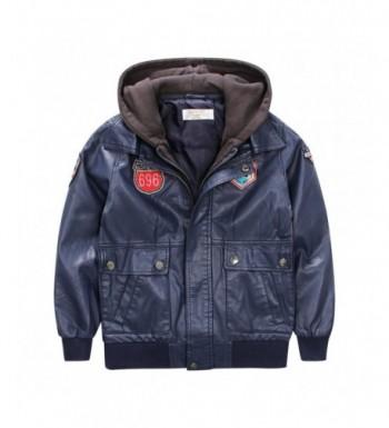LJYH Leather Jacket Outdoor Coats
