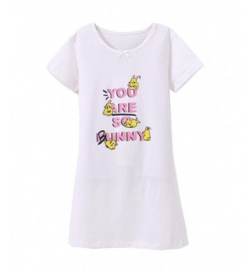 Princess Nightgowns Rabbit Shirts Sleepwear