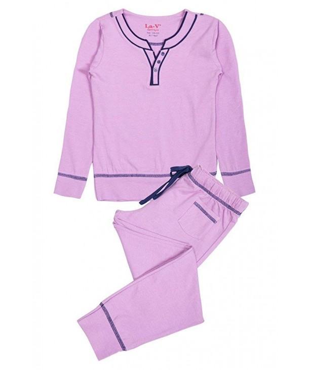 Girls Pajamas Pink Size 128 134