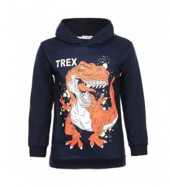 CARGI Toddler Sweatshirts Dinosaur Pullover