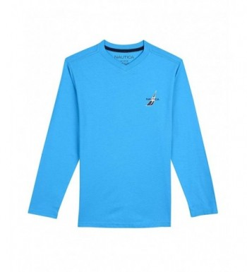 Nautica Boys Sleeve V Neck T Shirt