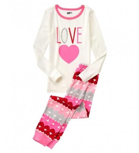 Girls Sarah and Duck Character Pyjamas Kids Nightwear 18 Months to 5 Years White
