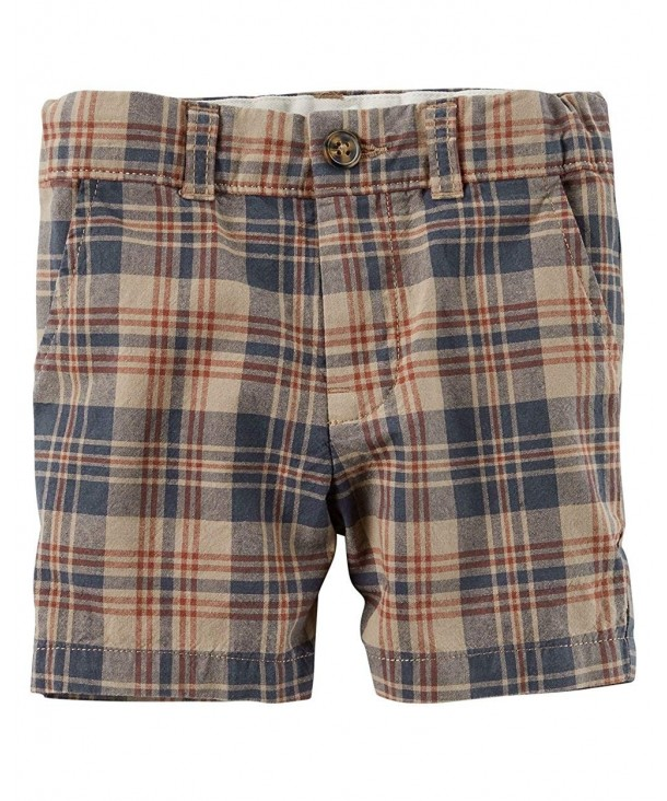 Carters Little Flat Front Shorts 5 Toddler