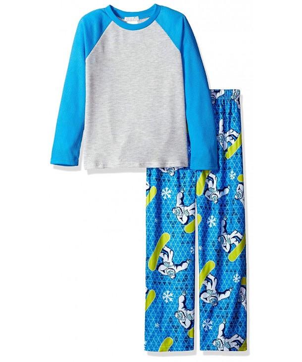 Komar Kids Piece Thermal Pajama