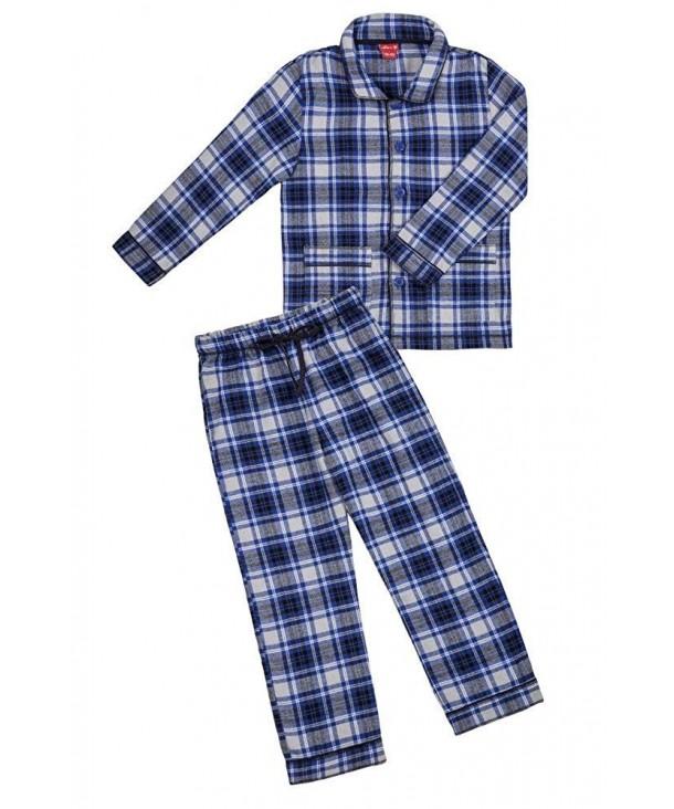 Pajama Sets Boys Check Pattern