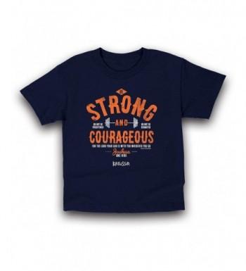 Kerusso Strong Courageous Christian T Shirt