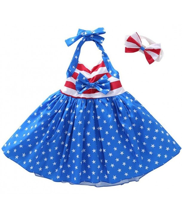 UNIQUEONE Toddler American Stripe Backless
