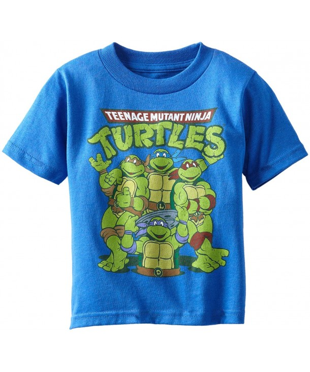 Teenage Turtles Toddler T Shirt Heather
