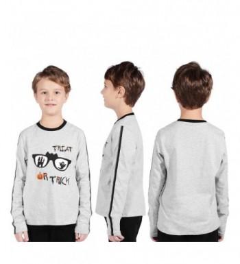 TaiMoon Cotton T Shirt Halloween Neckline
