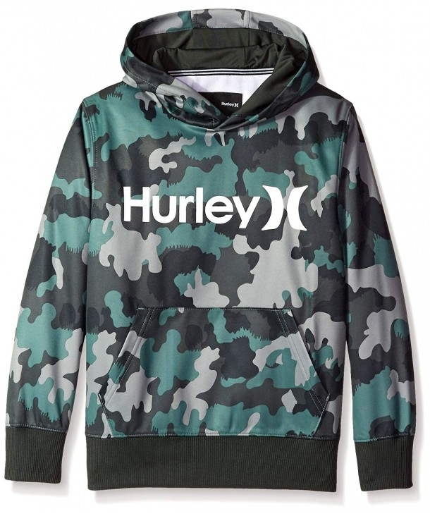 Hurley Boys Thermal Green Pullover