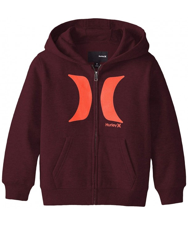 Hurley Little Boys Front Hoodie