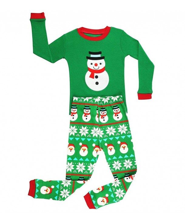 Elowel Snowmen pajamas Cotton 12M 8Y