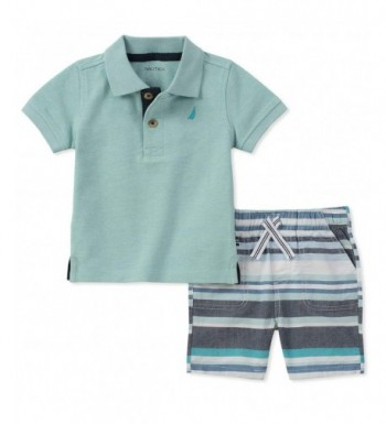 Nautica Boys Polo with Shorts