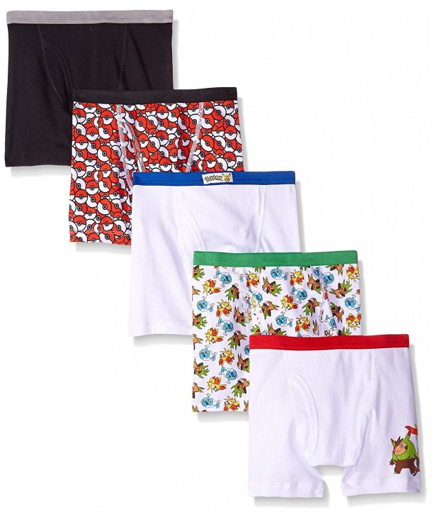 Handcraft Boys Pokemon Boxer Briefs