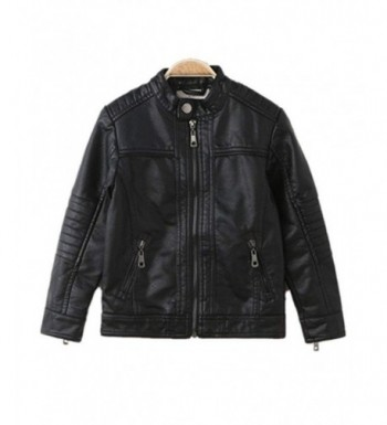 Trendy Stand Collar Leather Spring Jacket