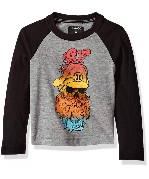Hurley Boys Sleeve Raglan T Shirt