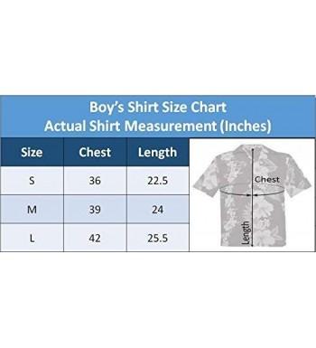 Designer Boys' Button-Down Shirts Wholesale