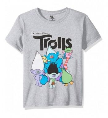 Trolls Boys Short Sleeve T Shirt