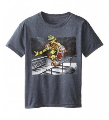 Teenage Turtles Photoreal T Shirt Charcoal
