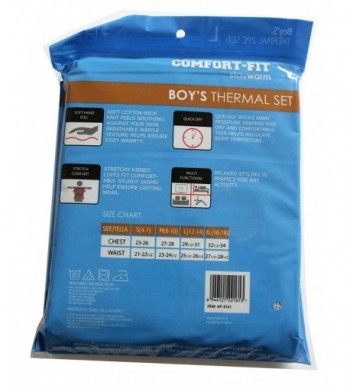 Cheap Real Boys' Thermal Underwear Sets