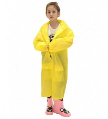 LINENLUX Waterproof Hooded Raincoat Pockets