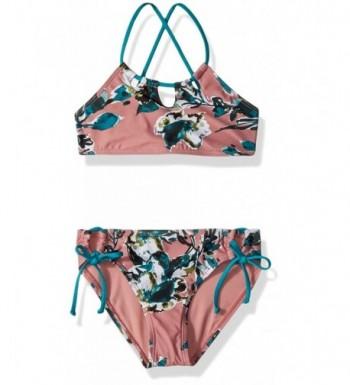 Splendid Chambray Cottage Halter Swimsuit