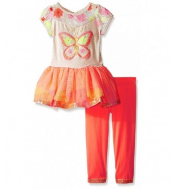 Rare Editions Butterfly Applique Legging