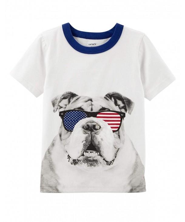 Carters Short Sleeve Sunglass Bulldog