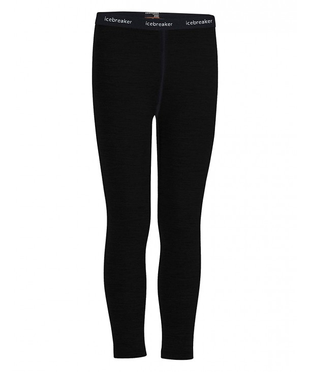 Icebreaker Merino Oasis Leggings Black